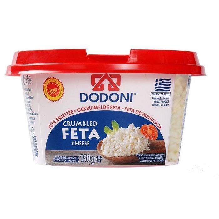 Dodoni Crumbled feta (150g)