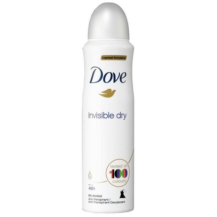 Dove Deodorant spray invisible dry (2 × 150ml)