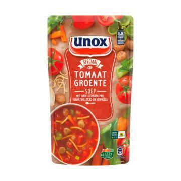 Unox Soep In zak tomaten groente (0.57L)