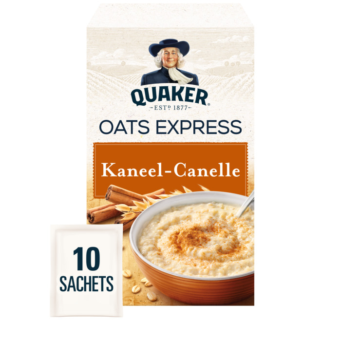 Oats Express Kaneel Havermout (10 × 33g)