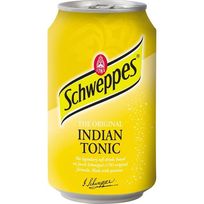 Schweppes Indian Tonic (rol, 33 × 33cl)