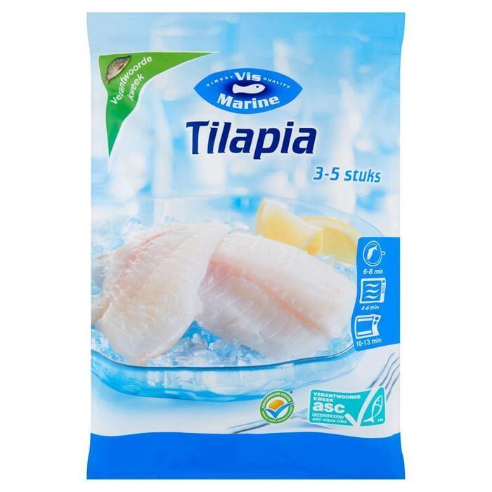 Tilapia, ASC (zak, 540g)