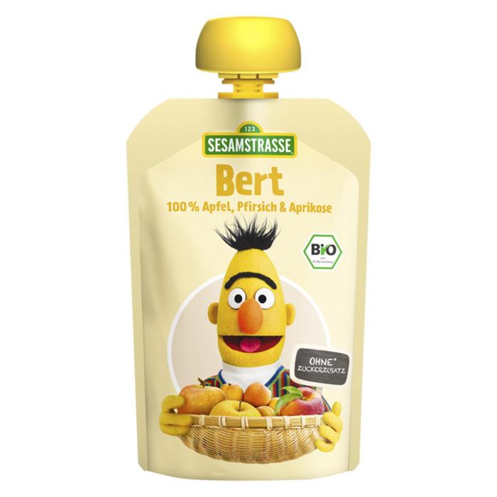 Sesamstraat Bert Fruit Puree 100g (100g)