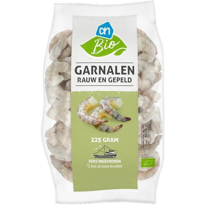 Albert Heijn garnalen Biologische 225 gram (225g)