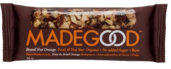 MadeGood Brazil Nut Orange Fruit & Nut Bar 36g (36g)
