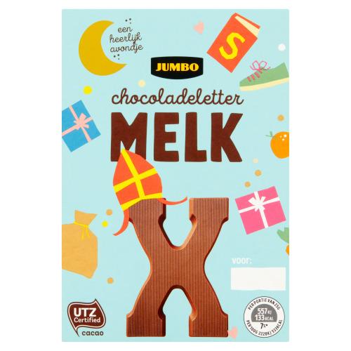 Jumbo Melkchocolade Letter X 65 g (65g)