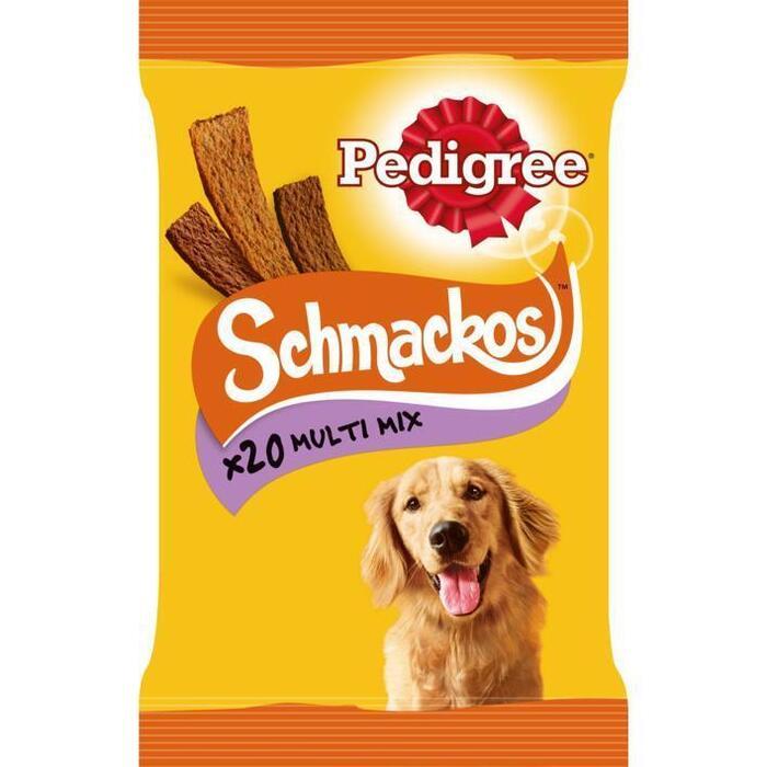 Pedigree Schmackos Multi Mix 20 Stuks 144 g (20 × 144g)