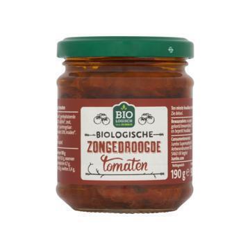 Biologische Zongedroogde Tomaten (pot, 190g)