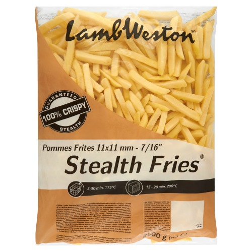 Lamb Weston Stealth Fries Pommes Frites 2500 g (2.5kg)