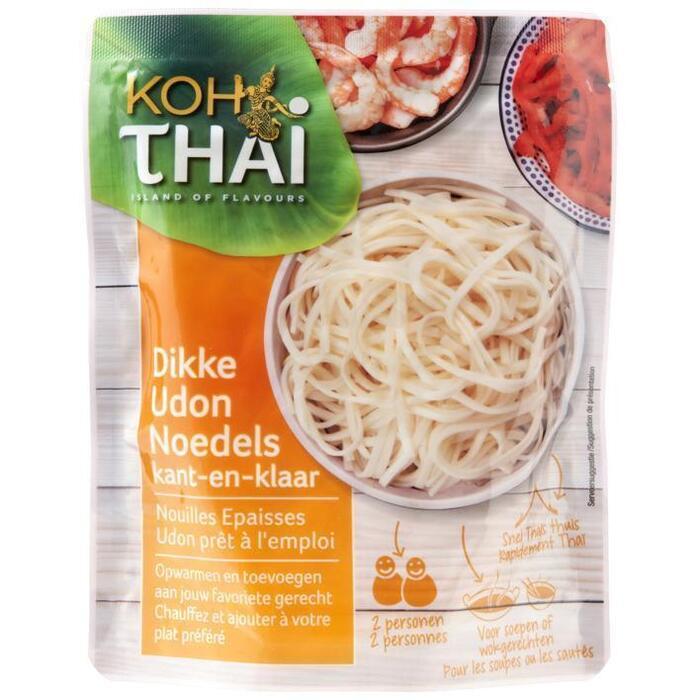 Koh Thai Voorgekookte dikke mie noodles (200g)