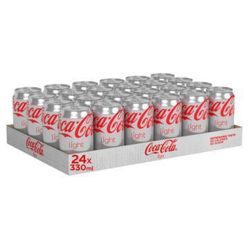Coca-Cola Light tray (rol, 24 × 33cl)