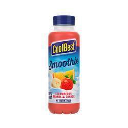 CoolBest Smoothie aardbei banaan sinaas (33cl)