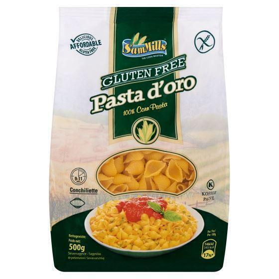 Sam Mills Gluten Free Pasta d'Oro Conchiliette 500 g (500g)