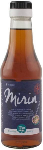 Mirin - Zoete kookrijstwijn TerraSana 250ml (250ml)