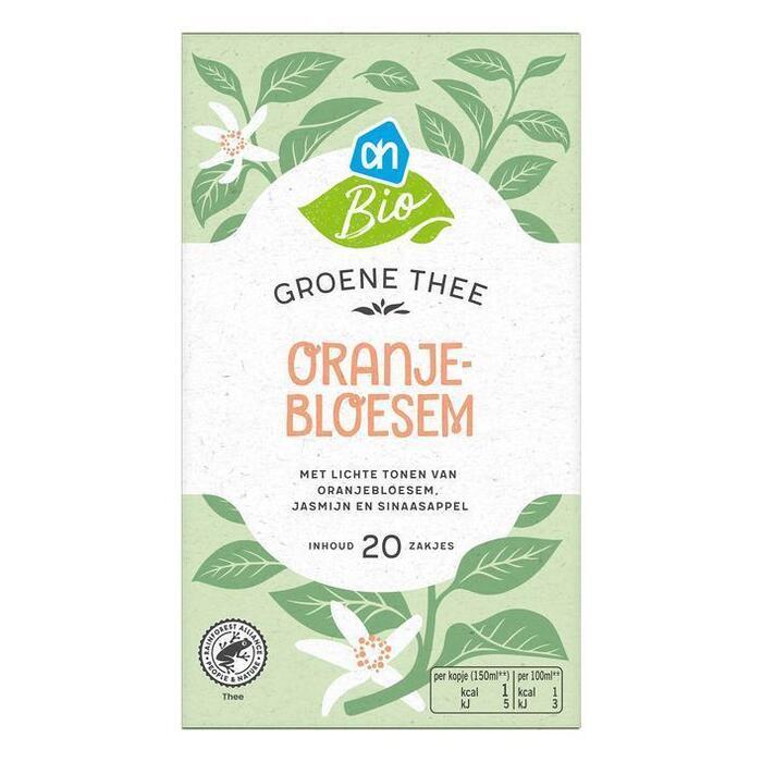 AH Biologisch Grn & witte thee jasmijn & oranjebloesem