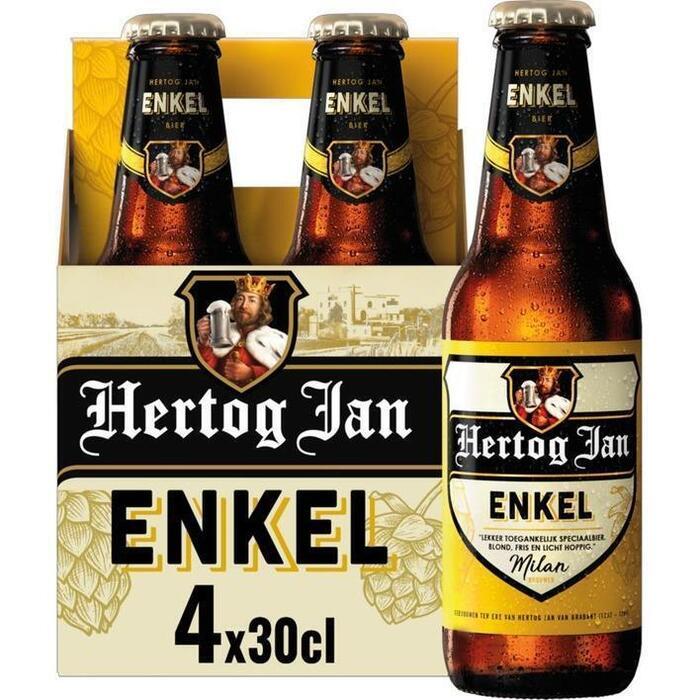 Hertog Jan Enkel Flessen 4 x 30 cl (rol, 4 × 30cl)