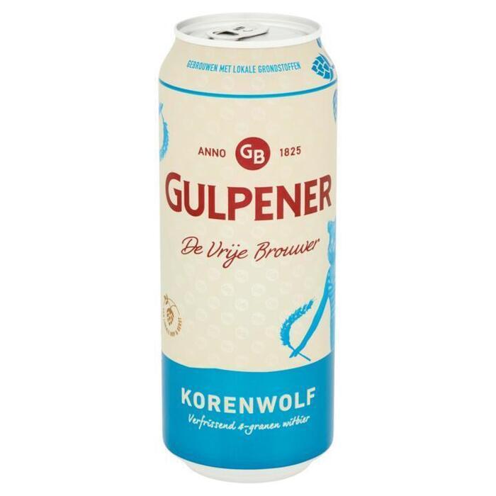 Gulpener Korenwolf witbier (rol, 50 × 0.5L)