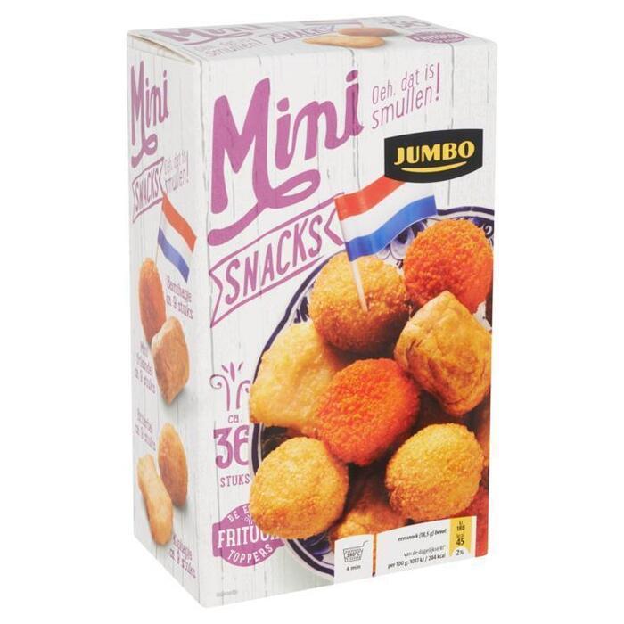 Jumbo Minisnacks Gemengde Hapjes ca. 36 Stuks 666g (666g)