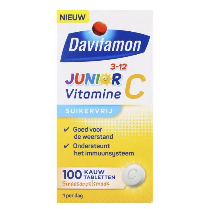 Davitamon Junior vitamine C sinaasappel