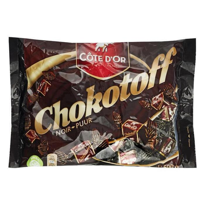 Côte d'Or Toffees chokotoff puur (500g)