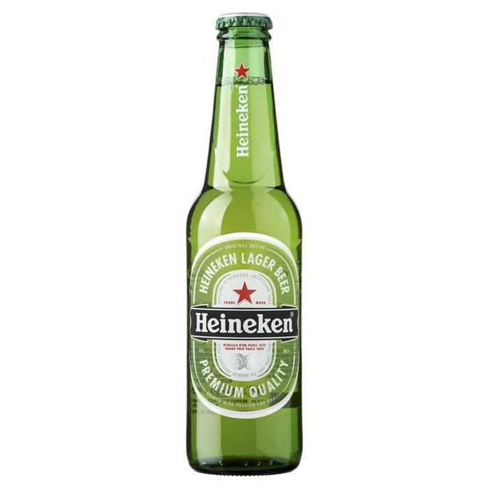 Heineken Lager Beer (rol, 33 × 33cl)