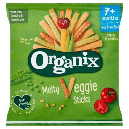 ORGANIX  Babyvoeding Melty Veggie Sticks Biologisch 15g Zakje (15g)