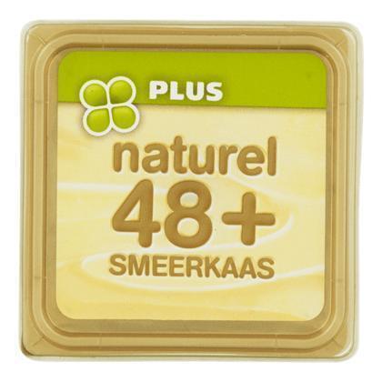 Smeerkaas naturel 48+ (kuipje, 100g)