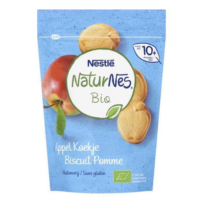 NaturNes Appelkoekje 10+ bio (150g)