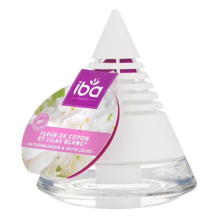 Iba Geurpiramide cotton fresh & white lilac (75ml)