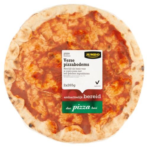 Jumbo Verse Pizzabodems 2 x 265g (2 × 265g)