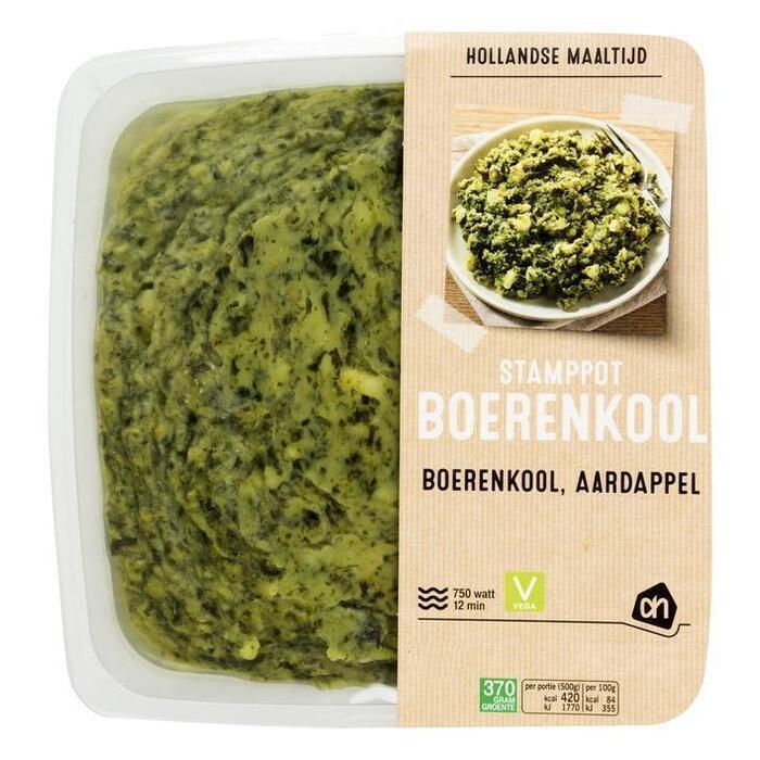 AH Hollandse stamppot boerenkool (1kg)