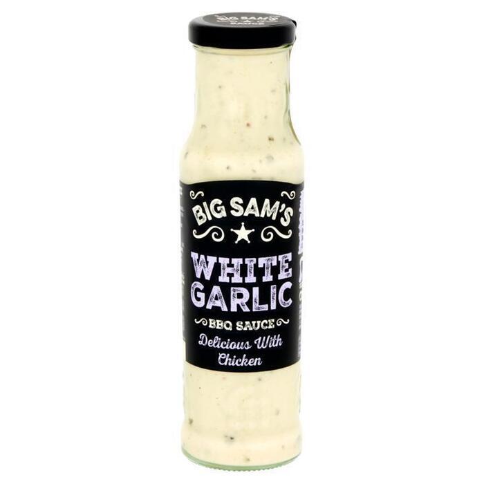 Big Sam's White Garlic BBQ Sauce 250 ml (250ml)