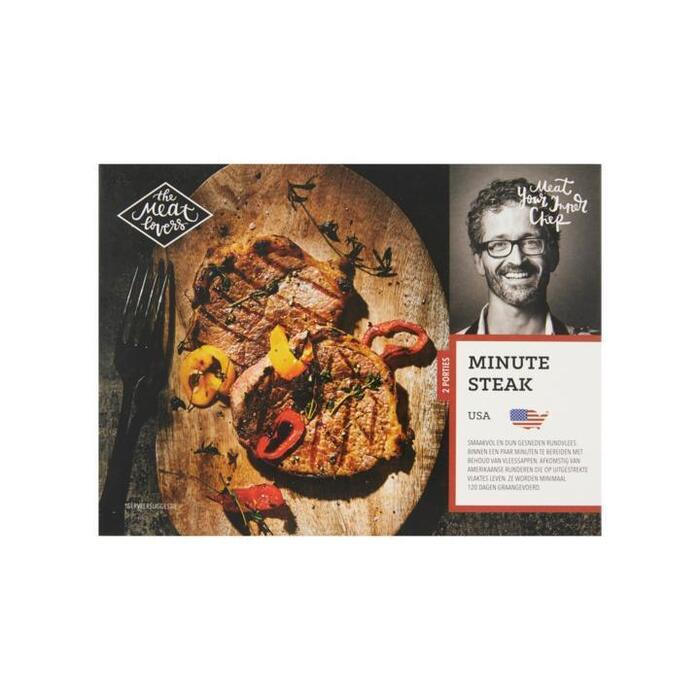 Minute Steak USA (doos, 250g)
