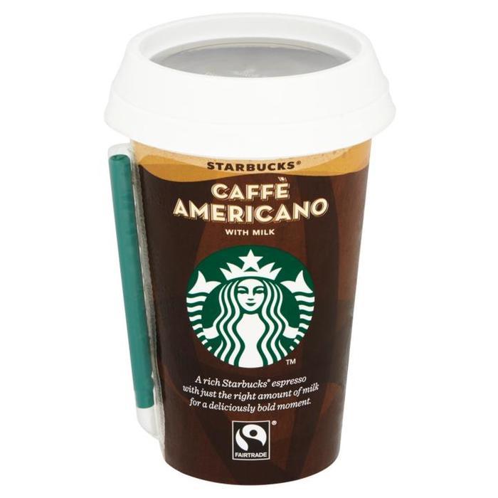 Starbucks Chilled Classics Americano 220ml beker (220ml)