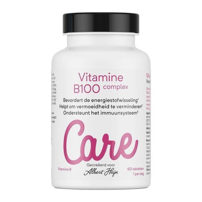 Care Vitamine B100 complex tabletten