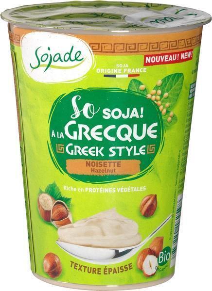 Greek style yoghurt hazelnoot (400g)