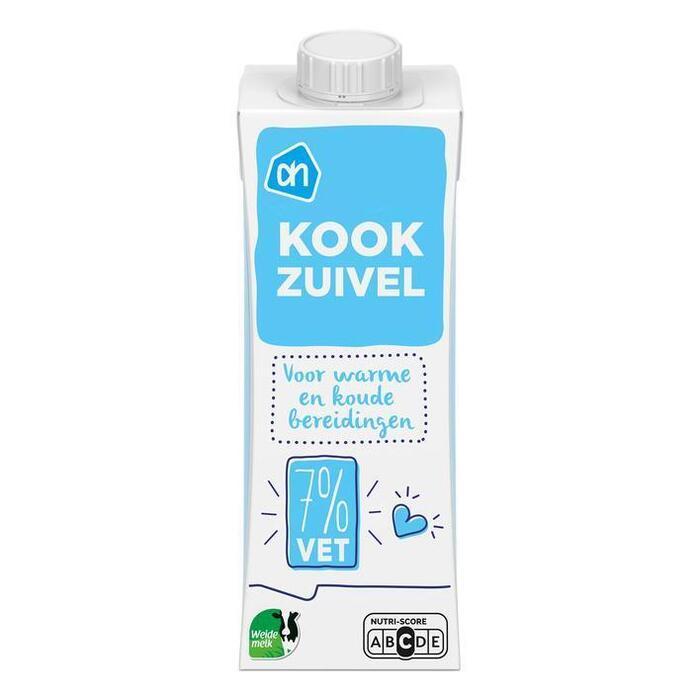 Kookroom light (fles, 250ml)