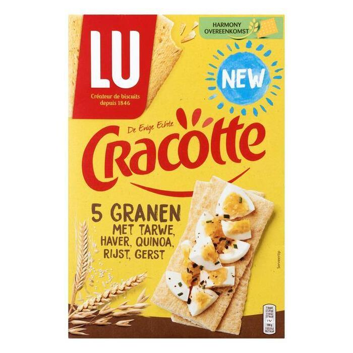 Cracotte 5 granen (250g)