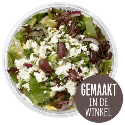 Salade met feta en tricolore aardappel (450g)