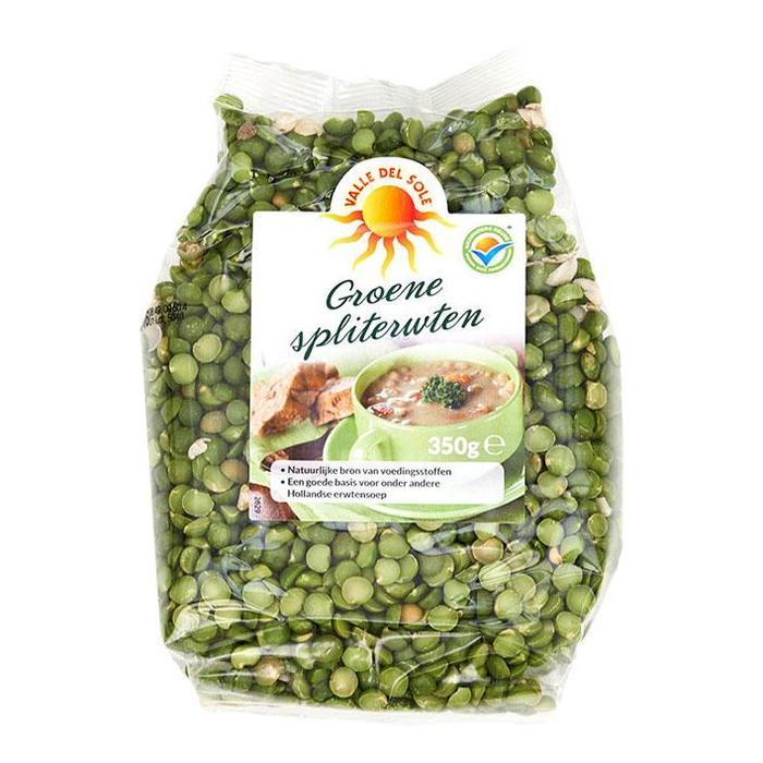 Groene Spliterwten 350 g (350g)