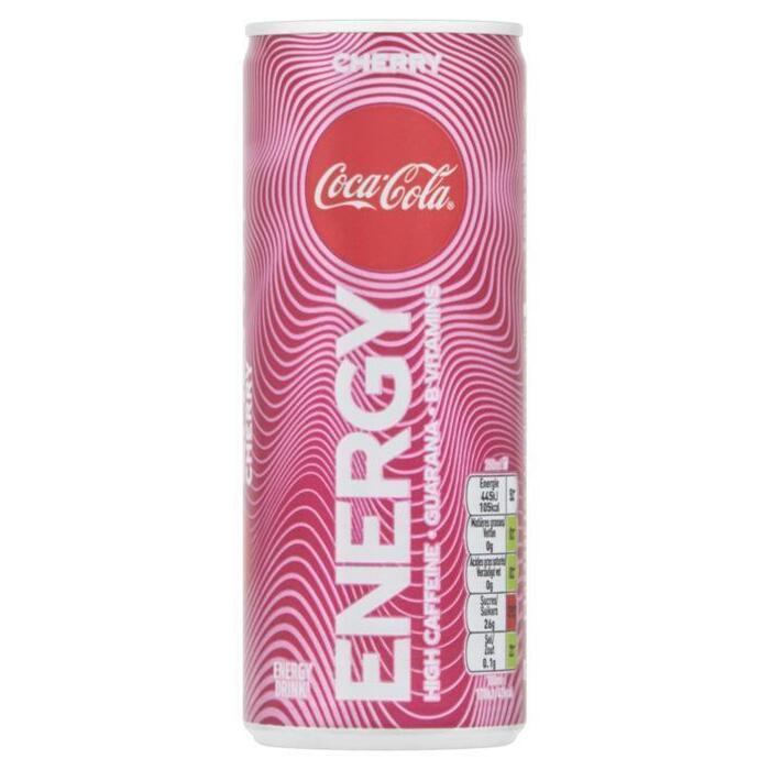 Coca-Cola Energy Cherry 250 ml (rol, 25 × 250ml)