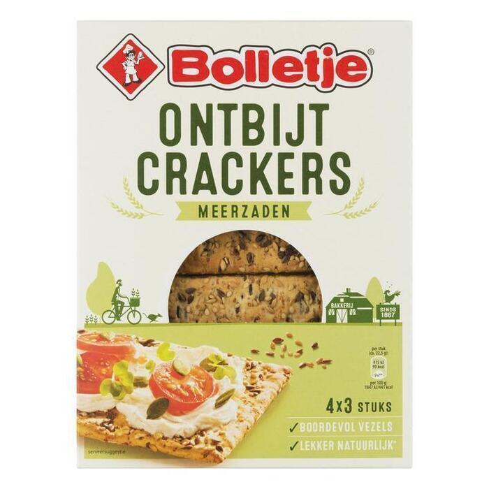 Crackers ontbijtcrackers meerzaden (270g)