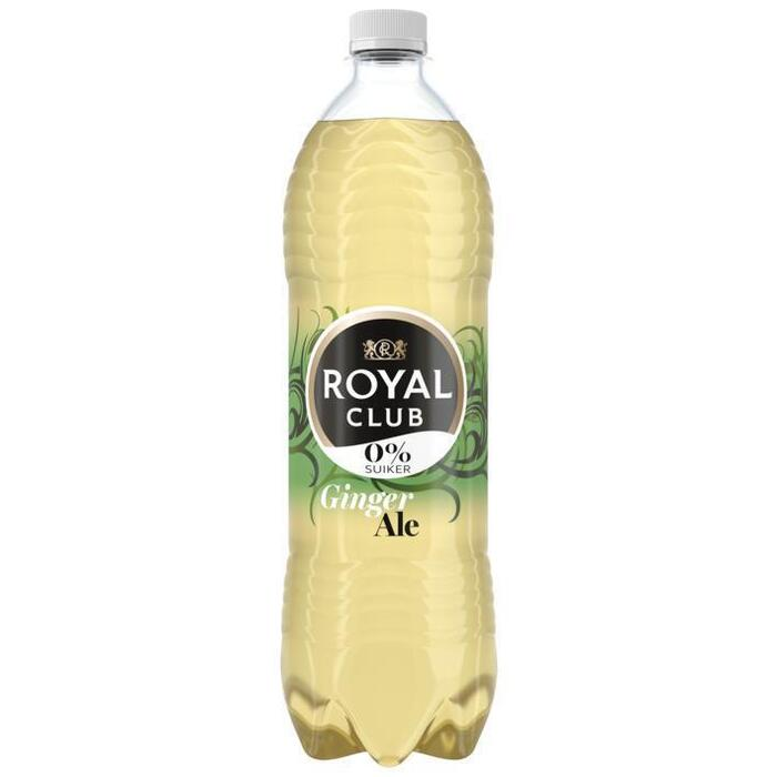 Royal Club Ginger ale 0% suiker (rol, 100 × 1L)