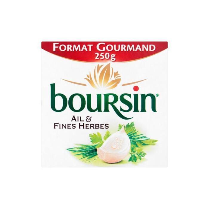 Boursin Knoflook & Fijne Kruiden Light 125g (250g)
