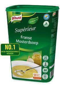 Knorr Supérieur Franse Mosterdsoep (6 × 1.1kg)
