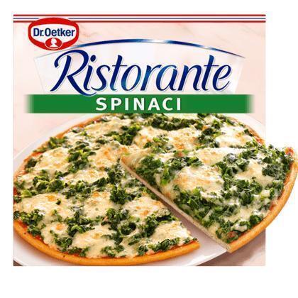 Ristorante Pizza Spinaci (doos, 335g)