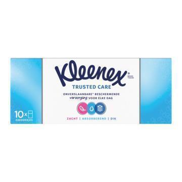 Kleenex Zakdoekjes Trusted Care 4-Laags 10 Stuks (236g)