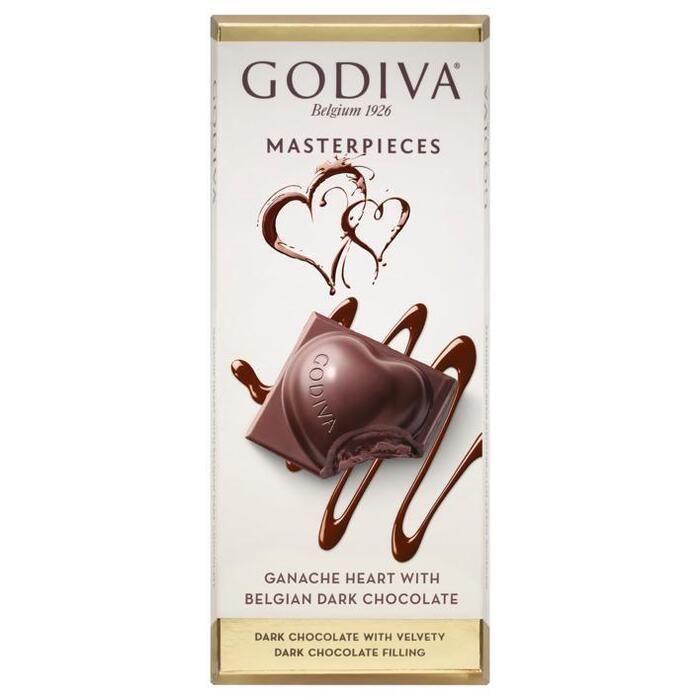 Godiva Masterpieces tablet ganache heart (83g)
