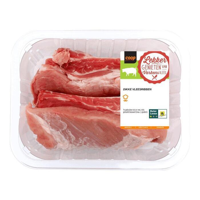 Vleesribben dik (440g)