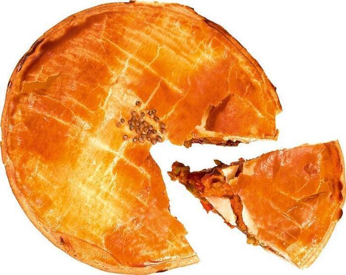 Linzencurry pie (225g)